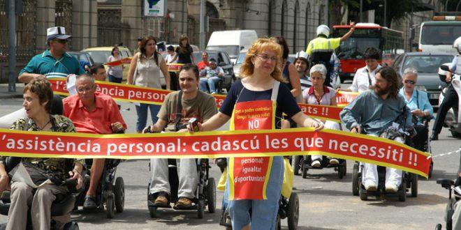 Acto en favor de la asistencia personal