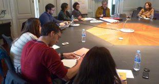 Reunión con los miembre del proyecto EXPDEM