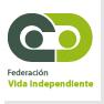 Logotipo de la Federación de Vida Independiente, clic para acceder a la web