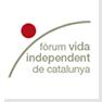 Logotipo del Forum de Vida Independient de Catalunya, clic para acceder a la web