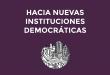 """Presentación en Barcelona del libro """"Hacia nuevas instituciones democráticas"""""""