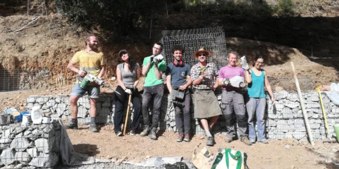 Grupo de trabajo en Mas Masdeu