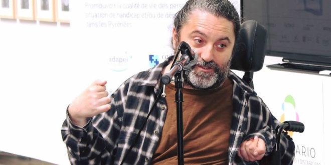 Antonio Centeno durante su intervención en el Diversario