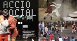 Cartel del Postgrau Arts escèniques i acció social