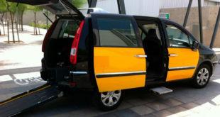 Taxi accesible de Barcelona