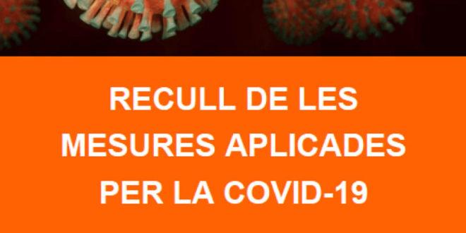 ECOM publica un recull de les mesures que s'han pres arran de la COVID-19